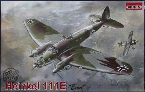 Heinkel 111E model Roden 027 in 1-72