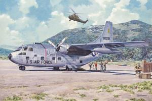 Roden 056 Samolot Fairchild C-123B Provider