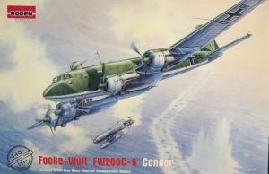 Focke Wulf Fw200C-6 Condor model Roden 340 in 1-144