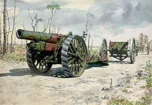 BL 8-inch howitzer Mk.VI model Roden 716 in 1-72