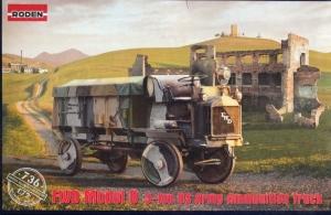US Truck FWD Model B 3-ton model Roden 736 in 1-72