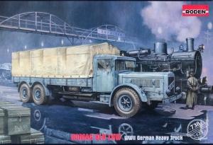Vomag 8LR LKW German Truck model Roden 738 in 1-72