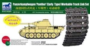 Panther Early Type Workable Track Link Set 1:35