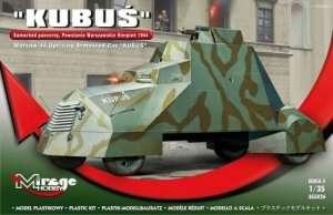 Warsaw 44 Uprising Armoured Car Kubuś