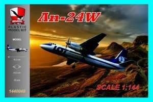 An-24W LOT model in 1-144
