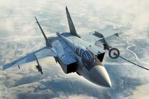 Russian MiG-31B BM Foxhound in scale 1-48