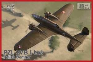 PZL 37B I Łoś - Polish Medium Bomber scale 1:72 - 72514