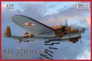 PZL 37B II Łoś - Polish Bomber scale 1:72 - 72515