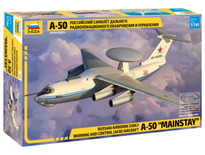 Model Russian Airborne Early Warning and Control (AEW) Aircraft A-50 Zvezda 7024