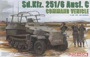 Dragon 6206 Sd.Kfz. 251/6 Ausf. C Command Vehicle in scale 1-35