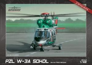 PZL W-3A Sokół German Police Helicopter model Answer AA48005