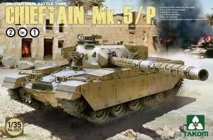 British Tank Chieftain Mk.5/P in scale 1-35 Takom 2027