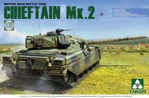 Model British Tank Chieftain Mk.2 in scale 1-35