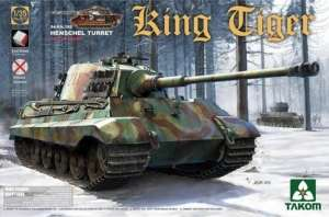 King Tiger Henschel Turret w / full interior scale 1-35 new track