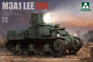 U.S. Medium Tank M3A1 Lee CDL in scale 1-35