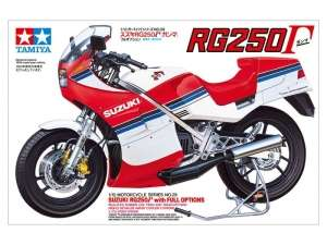 Suzuki RG250 w/Full Options model Tamiya 14029 in 1-12