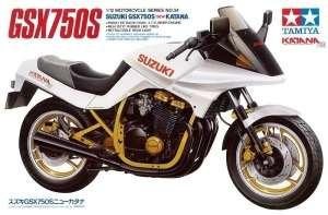 Suzuki GSX750S new Katana model Tamiya 14034 in 1-12