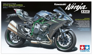 Kawasaki Ninja H2 Carbon model Tamiya 14136 in 1-12