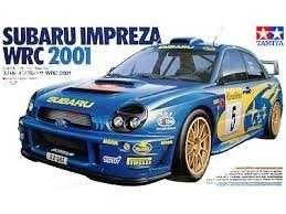 Subaru Impreza WRC 2001 in scale 1-24