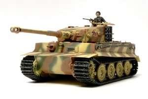 German tank Tiger I in scale 1-48 Tamiya 32575