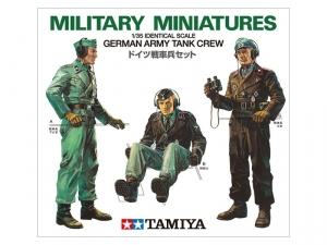 German Army Tank Crew model Tamiya 35001 in 1-35