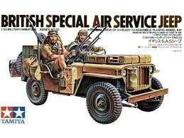 British Special Air Service Car in scale 1-35