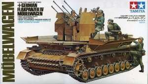 German Flakpanzer IV Mobelwagen in scale 1-35 Tamiya 35101