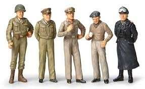 Famous Generals in scale 1-35