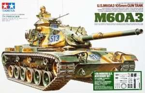 US M60A3 and modern accessory set in scale 1-35