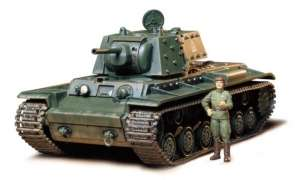 Russian Tank KV-1B Model 1940 Tamiya 35142 in 1-35
