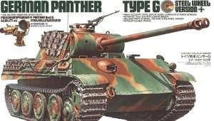 German Panther type G Steel Wheel Version in scale 1-35