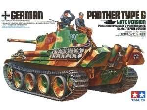 German Panther type G Late Version in scale 1-35