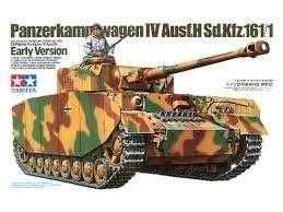 German Tank Pz.Kpfw. IV Ausf.H in scale 1-35