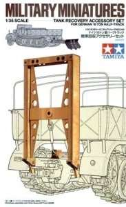 Tamiya 35243 Tank Recovery Accessory Set for Half-Track FAMO