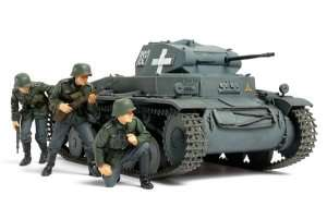 German Panzerkampfwagen II Ausf.C in scale 1-35
