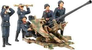 Tamiya 35302 German 3.7cm Flak 37 Anti-Aircraft Gun w/Crew