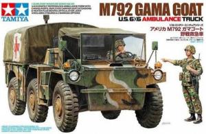 Tamiya 35342 Ciężarówka M792 Gama Gout ambulans model 1-35