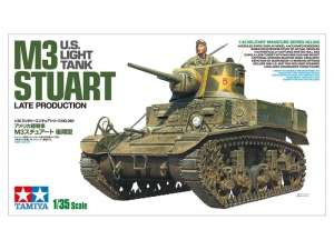 U.S. Light Tank M3 Stuart in scale 1-35