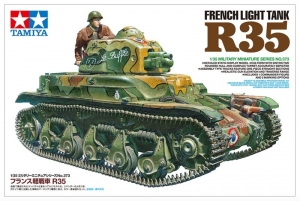French Light Tank R35 model Tamiya 35373 in 1-35