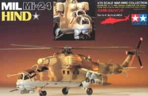 Mil Mi-24 Hind model Tamiya 60705 in 1-72