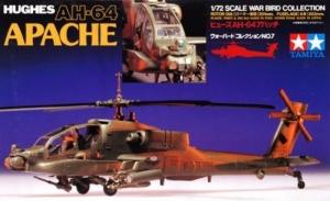 Hughes AH-64 Apache model Tamiya 60707 in 1-72