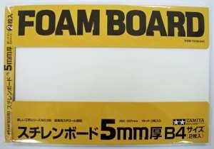 Foam Board B4 364x257x5mm Tamiya 70139