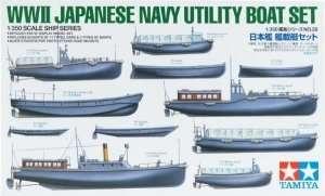 Tamiya 78026 WWII Japanese Navy Utility Boat Set