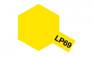 LP-69 Clear Yellow - Lacquer Paint - 10ml Tamiya 82169