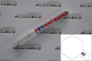 Paint Marker Contains Enamel X-2 White Tamiya 89002