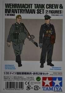 Tamiya 89621 Wehrmacht Tank Crew & Infantryman Set