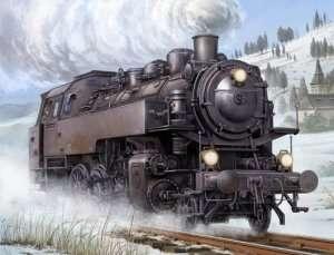 Dampflokomotive BR86 in scale 1-35