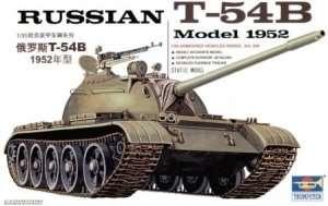 Soviet tank model T-54b Trumpeter 00338