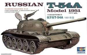 Russian T-54A Mod 1951 in scale 1-35