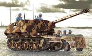 German Panzerjager 39(H) 7,5cm Pak40/1 Marder I in scale 1-35